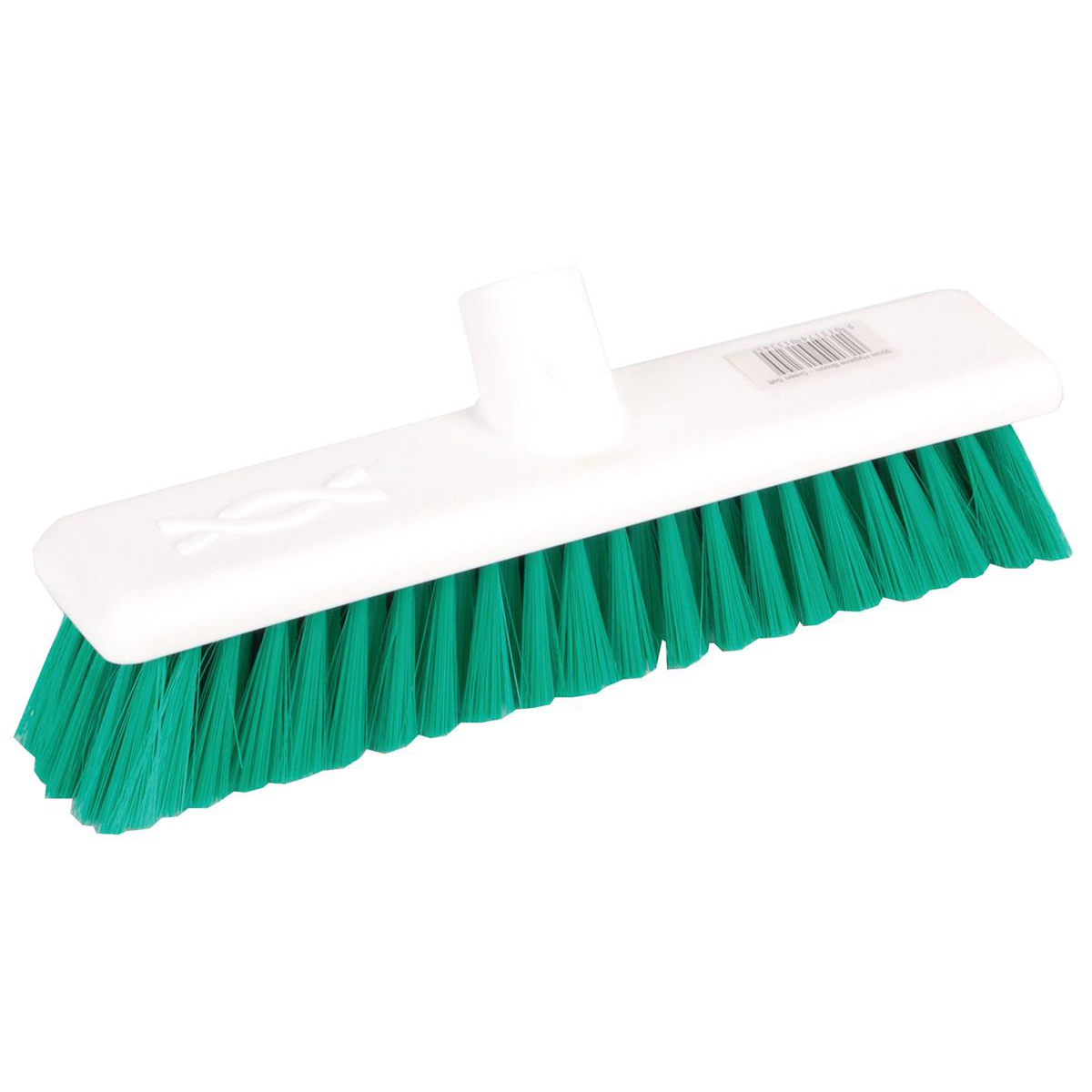 Brushes & Brooms Robert Scott & Sons Abbey Hygiene Broom 12inch Washable Soft Broom Head Green Ref BHYRS12SG