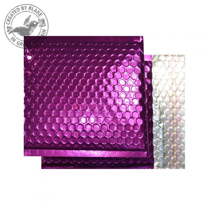 Purely Packaging Padded Envelope P&S CD Metallic Purple Ref MBPUR165 Pk 100 *10 Day Leadtime*
