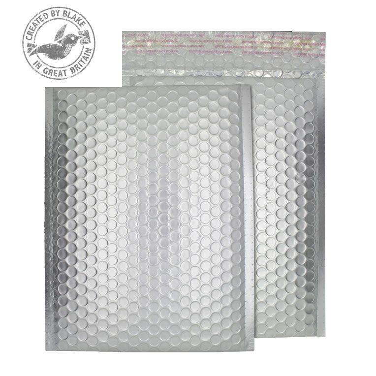 Purely Packaging Bubble Envelope P&S C3 Matt Metallic Chrome Ref MTA450 [Pk 50] *3 to 5 Day Leadtime*