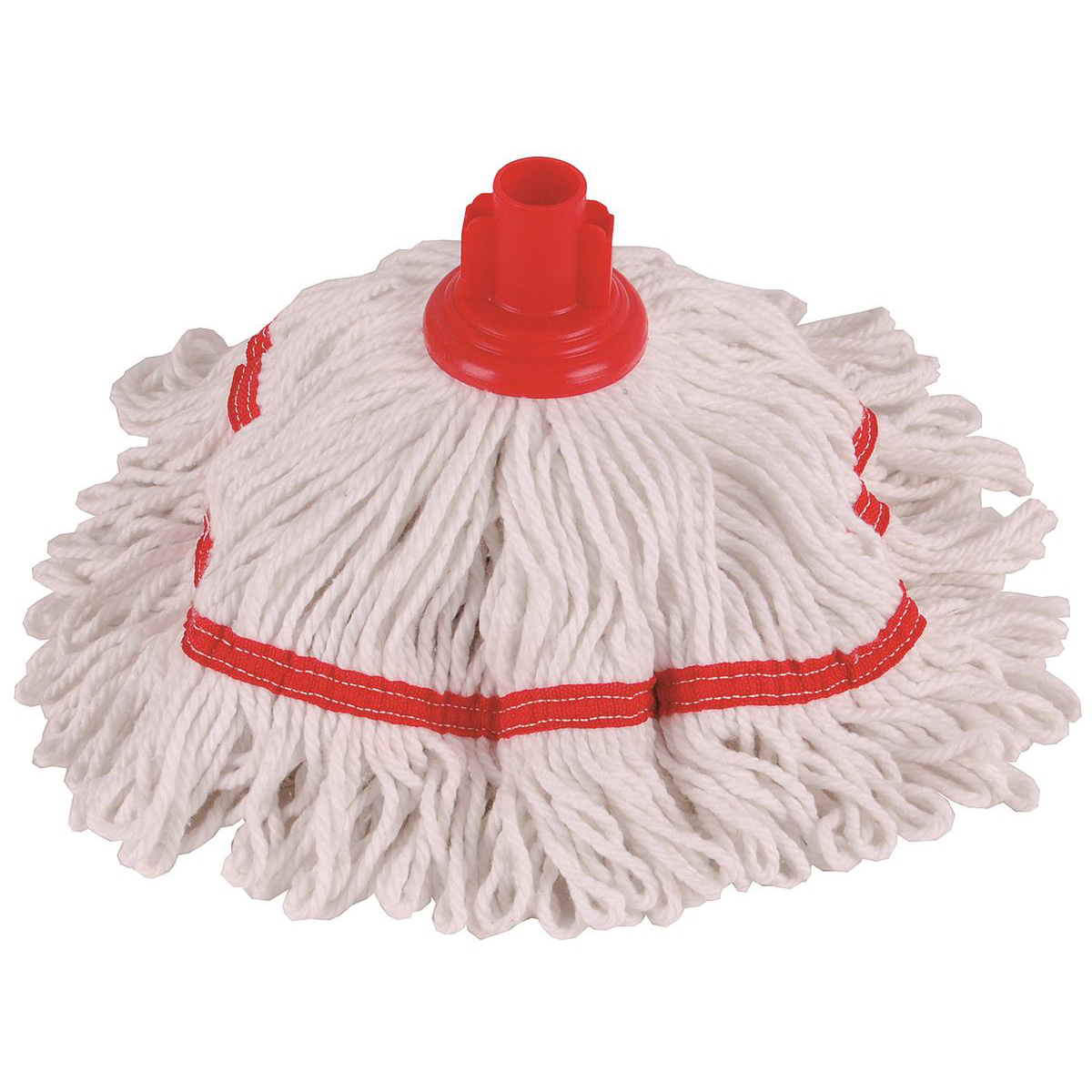 Robert Scott & Sons Hygiemix T1 Socket Cotton & Synthetic Colour-coded Mop 250g Red Ref 103064RED