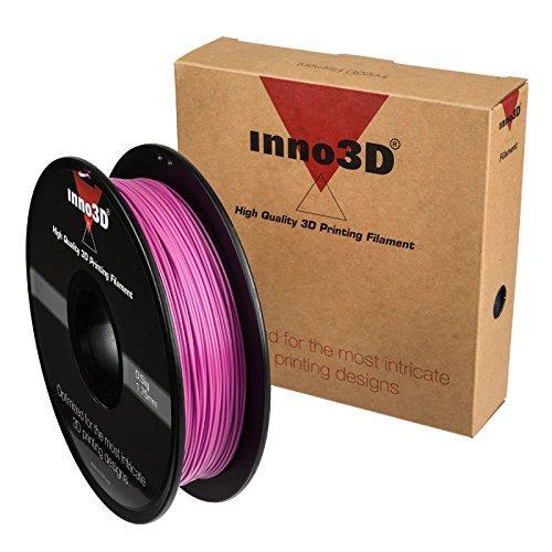 Inno3D PLA Filament for 3D Printer 1.75x200mm 0.5kg Pink Ref 3DPFP175PK05
