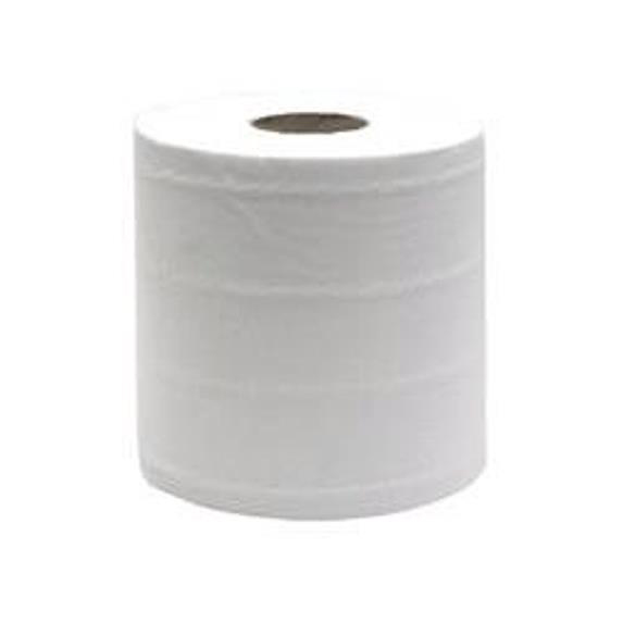 Hand Towels & Dispensers Maxima Centrefeed Roll 2-Ply 180mmx150m White Ref 1105003 Pack 6
