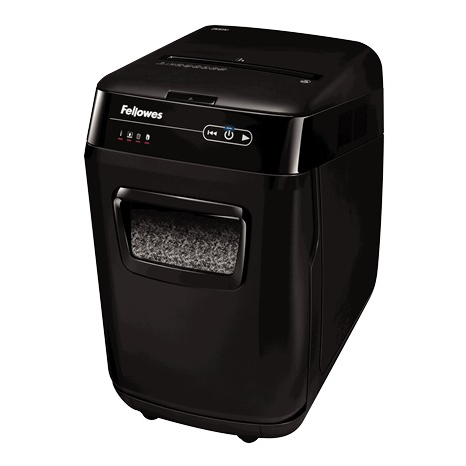 Fellowes AutoMax Shredder 2x14mm Micro-cut P-5 32 Litre Black Ref 4656401 [FREE Scanner] Jul-Sep 2018