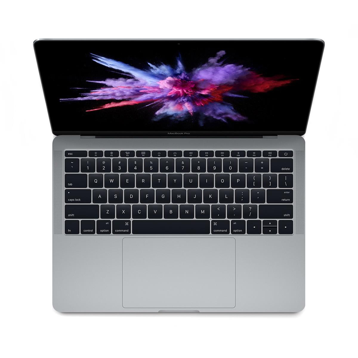 Apple MacBook Pro Mac OS Wi-Fi 8GB RAM 128GB SDD 10-hour Battery 13in Space Grey Ref MPXQ2B/A