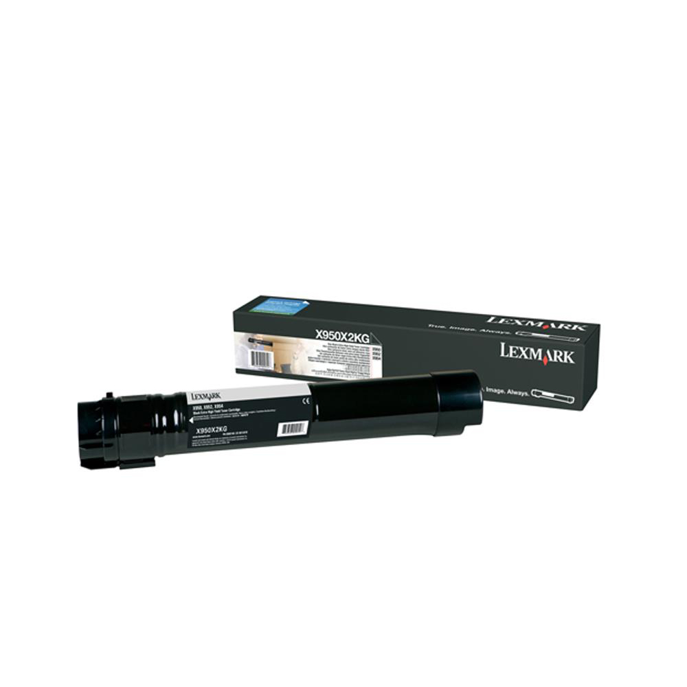 Lexmark X95X XHY Toner Cartridge Return Program Ref 38000pp Black Ref X950X2KG