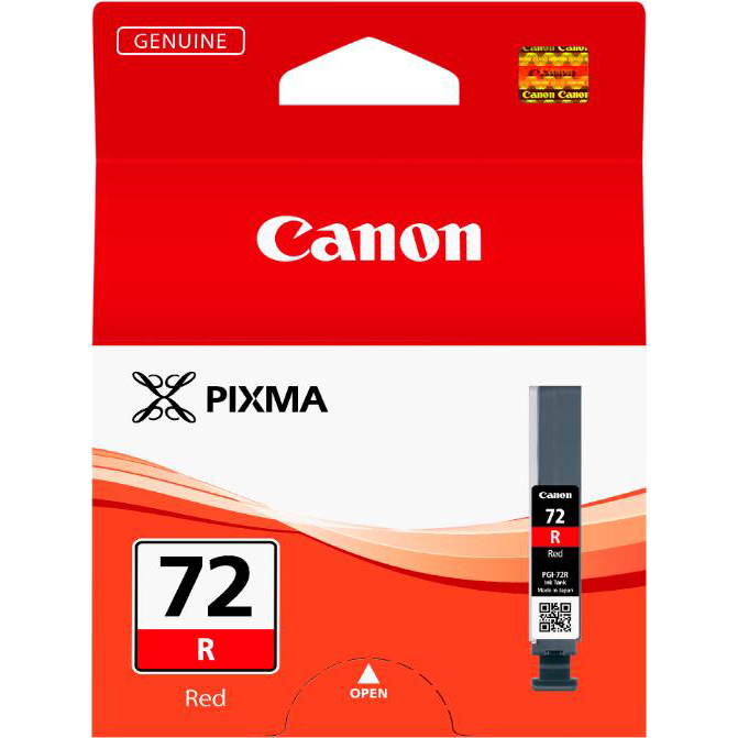 Canon PGI-72 Inkjet Cartridge Page Life 1045pp Red Ref 6410B001