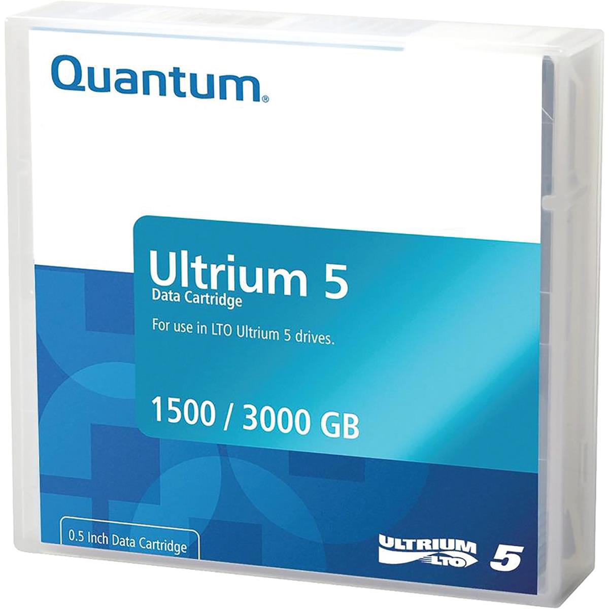 Quantum Ultrium LTO5 Data Tape 1.50TB Native/ 3 TB Compressed Ref MR-L5MQN-01S
