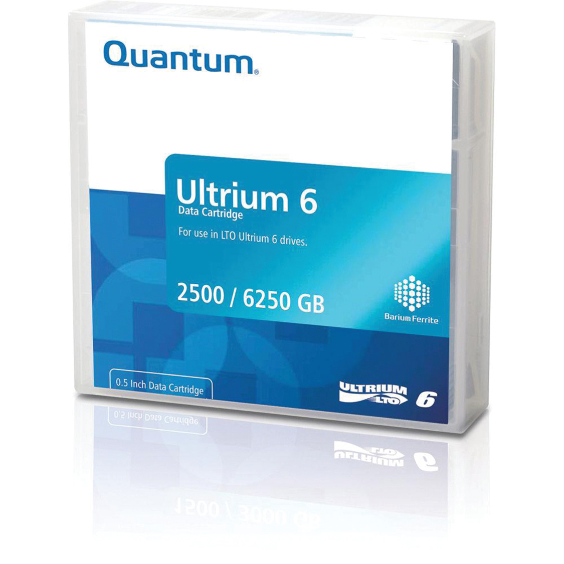 Quantum Ultrium LTO6 BaFe Data Tape 2.50TB N/ 6.25TB C Ref MR-L6MQN-01S