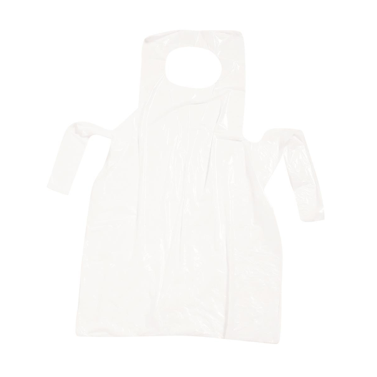 Image for Aprons On Roll Polythene 17 Micron 27x46in Clear [Roll of 200]