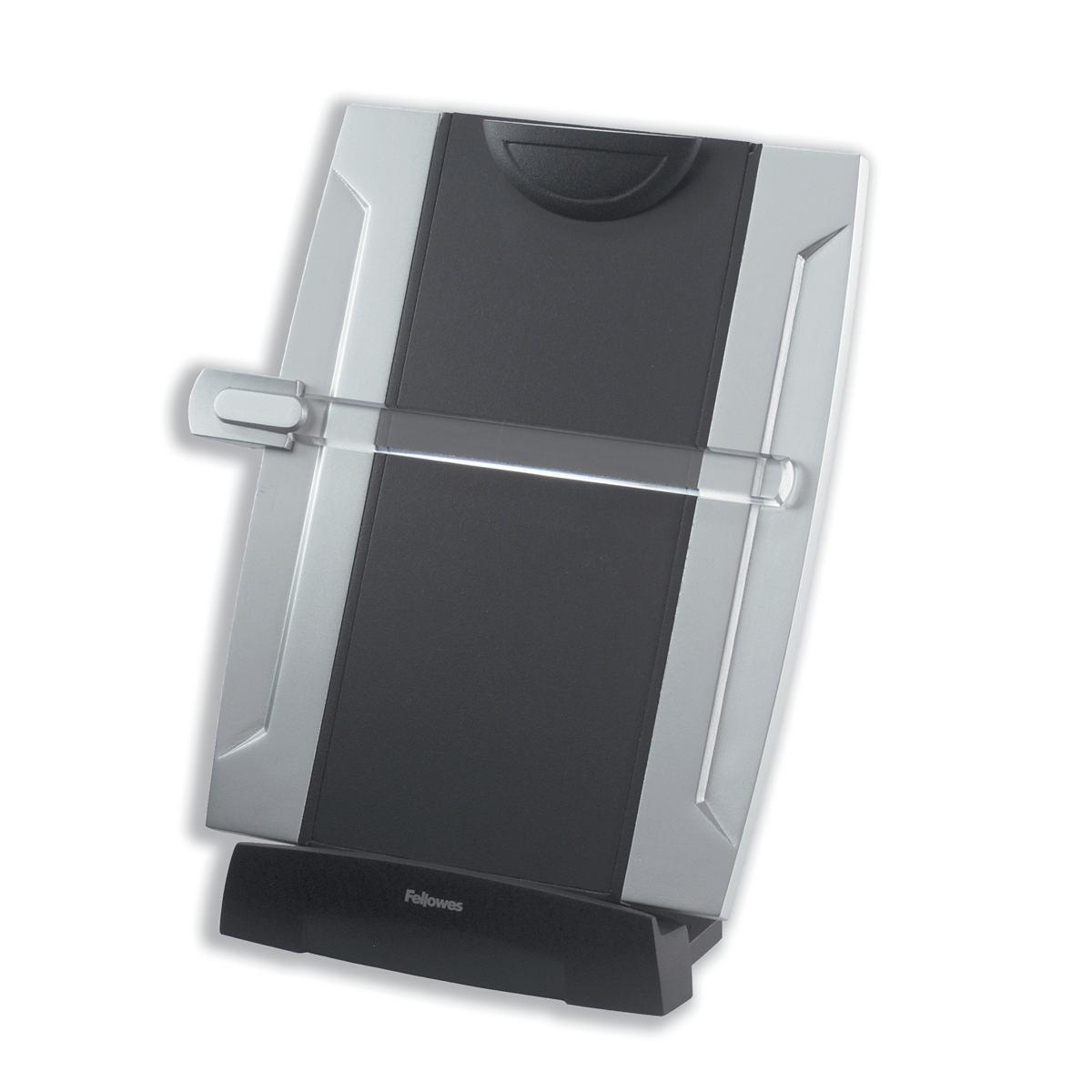 Copyholders Fellowes Office Suites Desktop Copyholder A4 Adjustable to A3 Ref 8033201