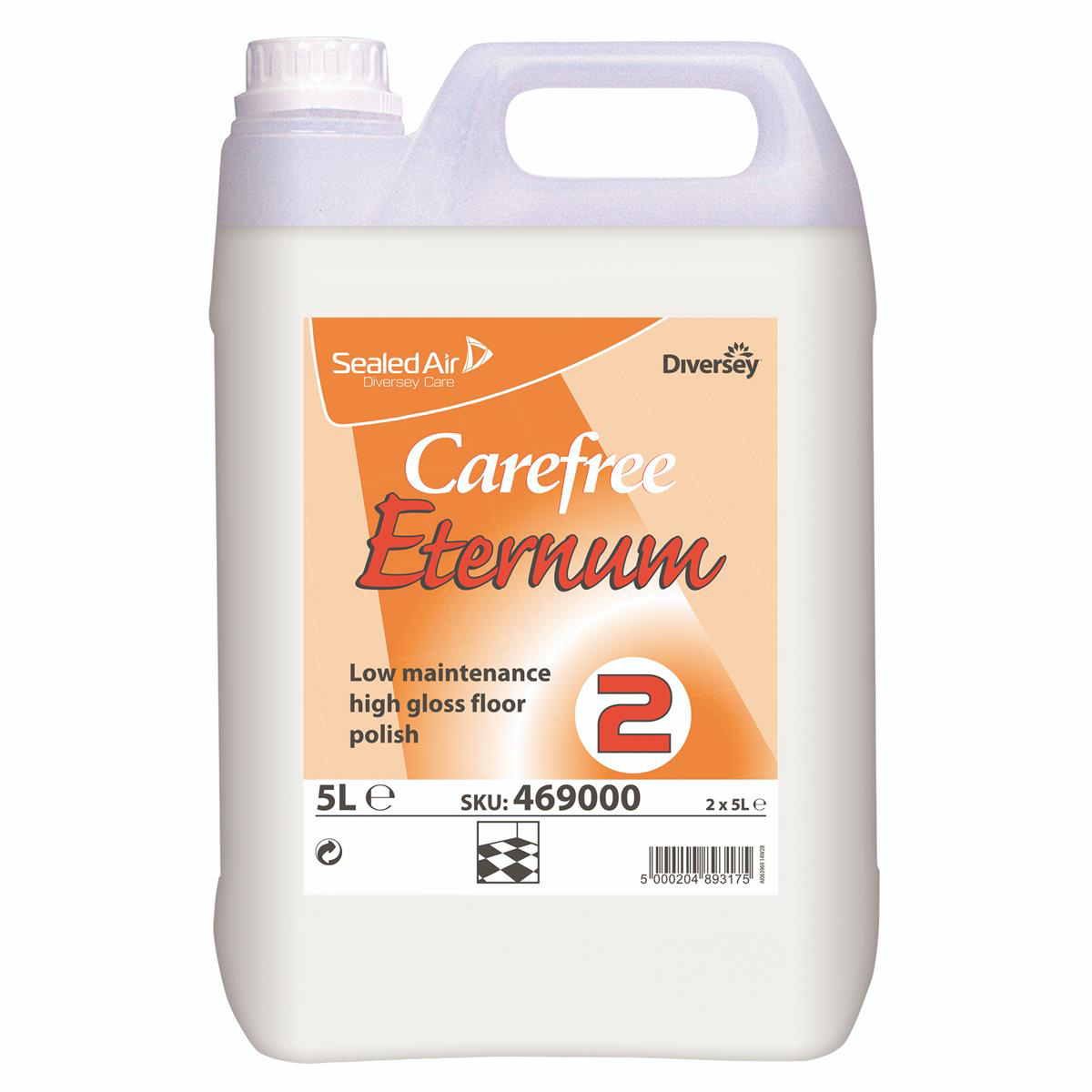 Disinfectant Wipes Johnson Diversey Carefree Eternum Floor Polish Low Maintenance High Gloss Step Two 5L Ref 469000