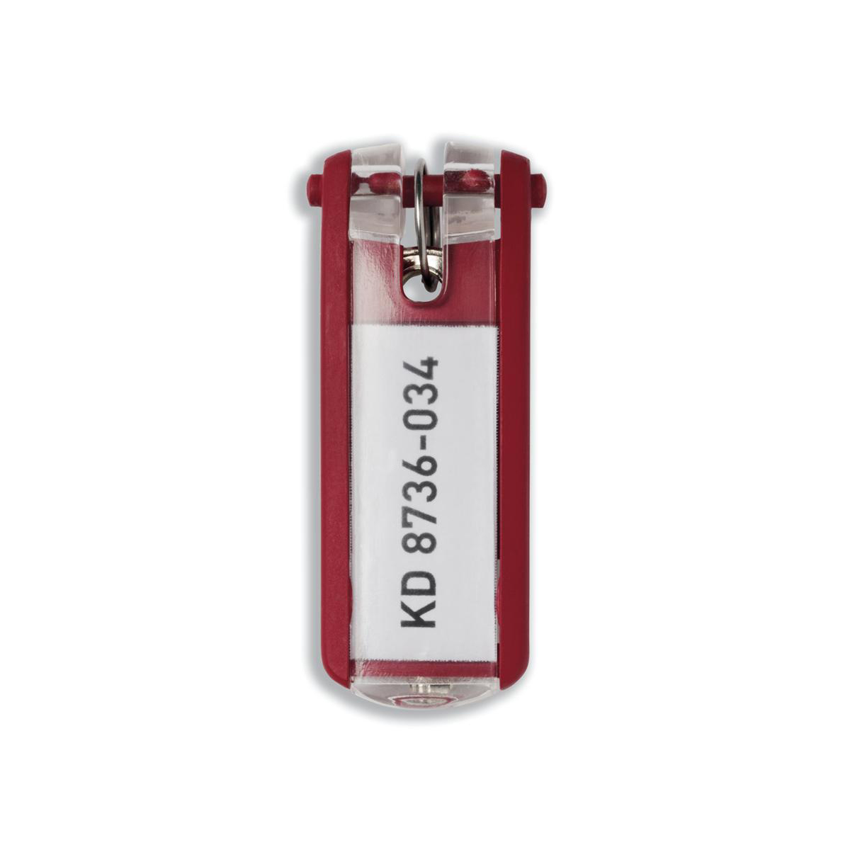 Durable Key Clip Red Ref 1957-03 Pack 6