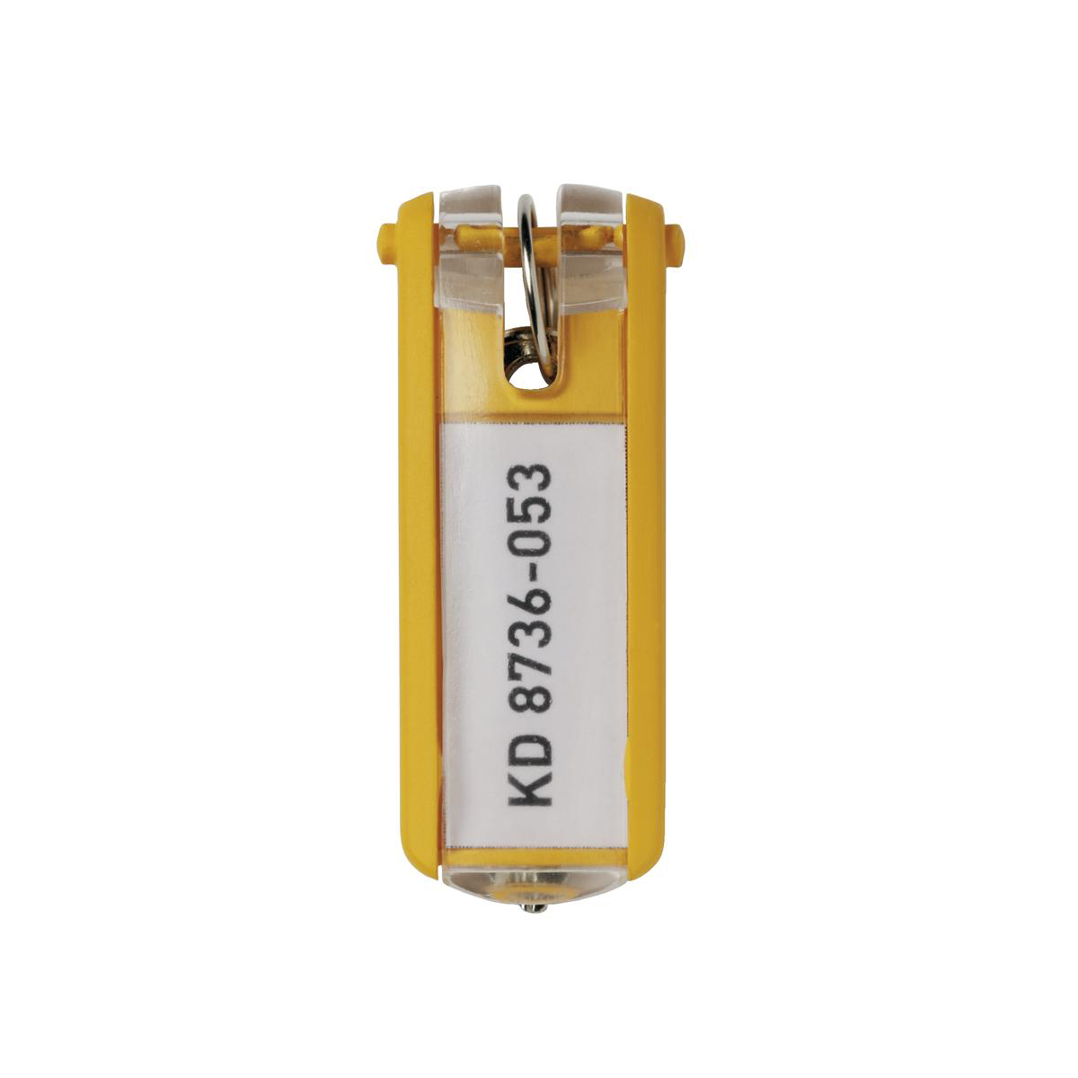 Durable Key Clip Yellow Ref 1957-04 [Pack 6]