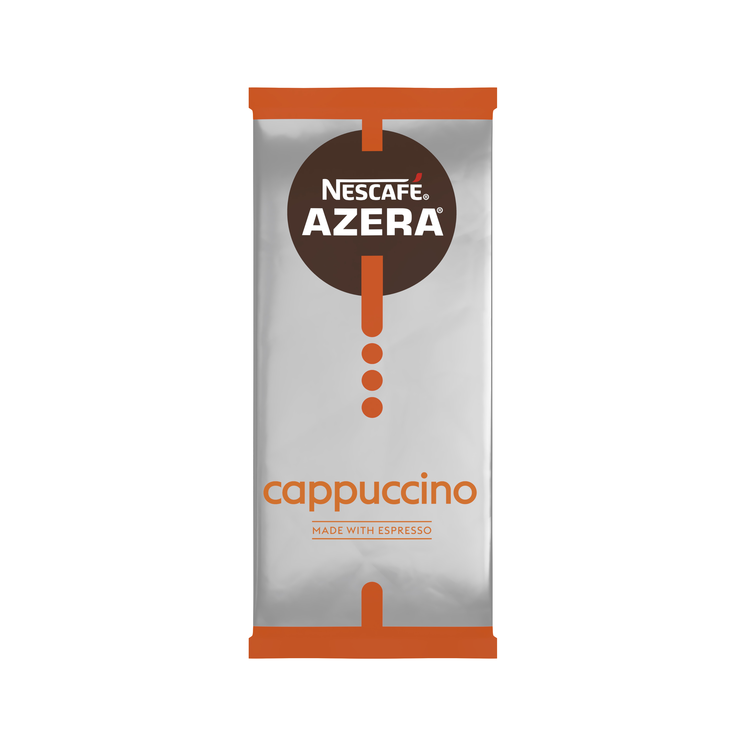 Coffee Nescafe Azera Cappuccino Instant Coffee Sachets One Cup 12366624 Pack 35