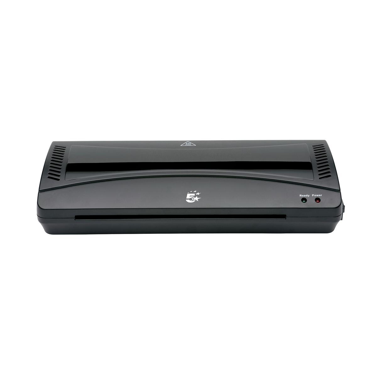 5 Star Office Hot and Cold A4 Laminator Up to 2x100micron Pouches