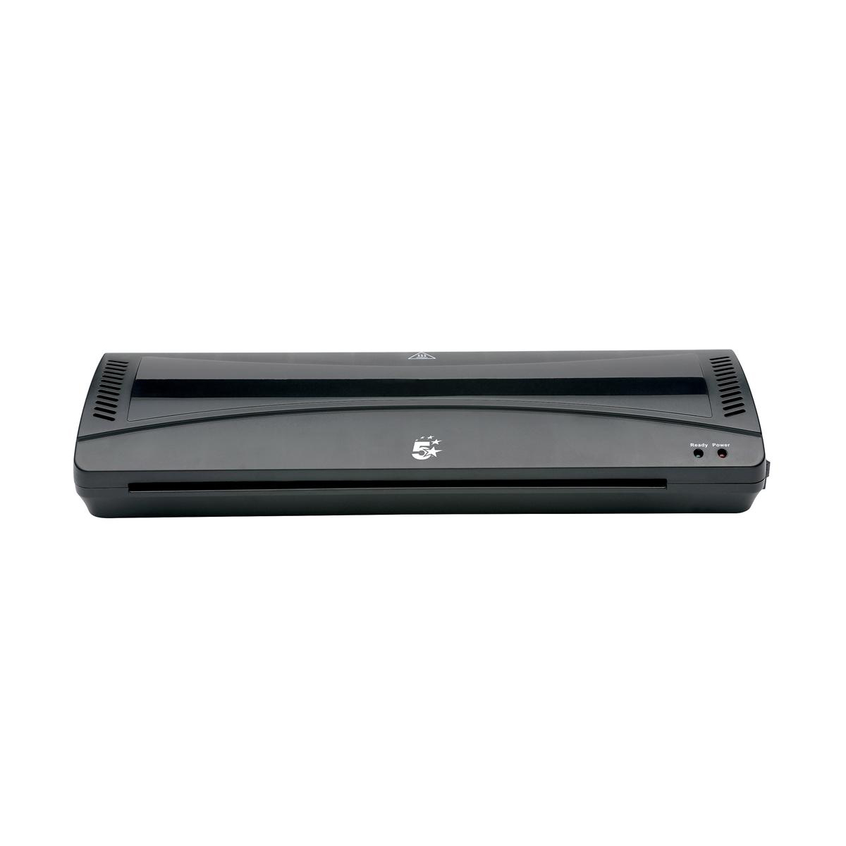 Laminating Machines 5 Star Office Hot and Cold A3 Laminator Up to 2x100micron Pouches