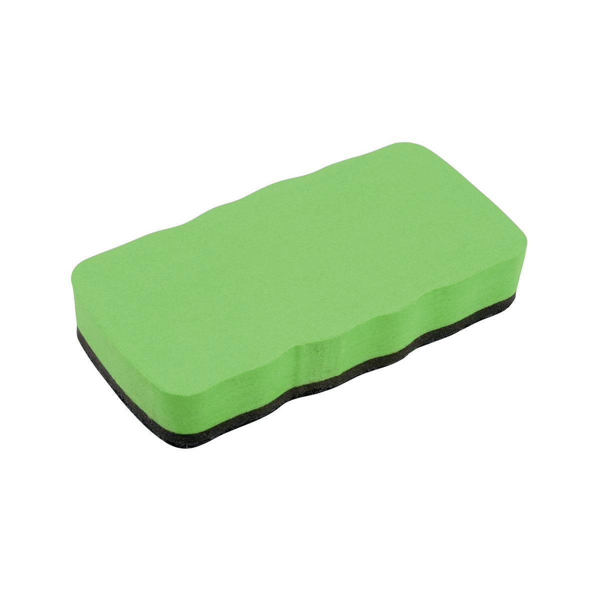 5 Star Elite Drywipe Eraser Magnetic Lime Green