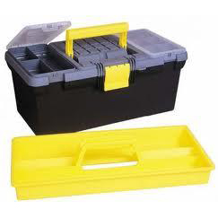 Stanley Toolbox 16 inch with Removable Tray Black/yelow Ref 1-93-335
