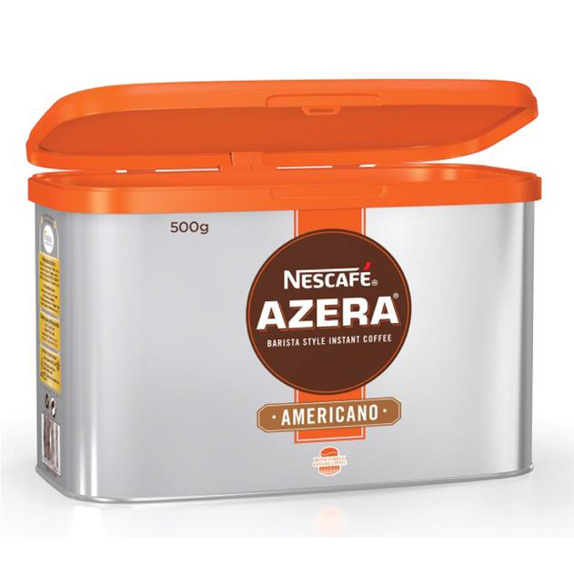 Nescafe Azera Barista Style Instant Coffee Americano 500g Ref 12284221 [2 For 1] Nov-Dec 2018