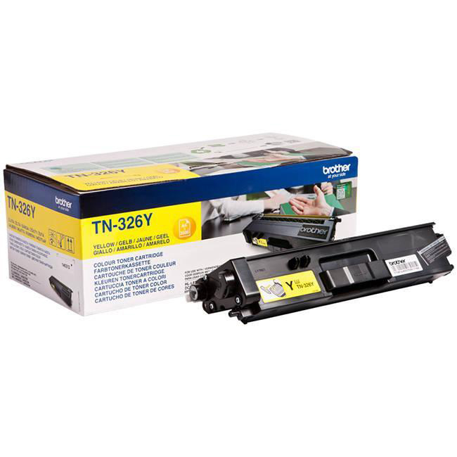 Brother TN326Y Toner Cartridge HY Yellow