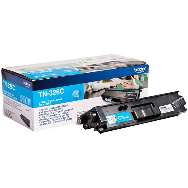 Brother Toner Cart HY Cyan TN326C