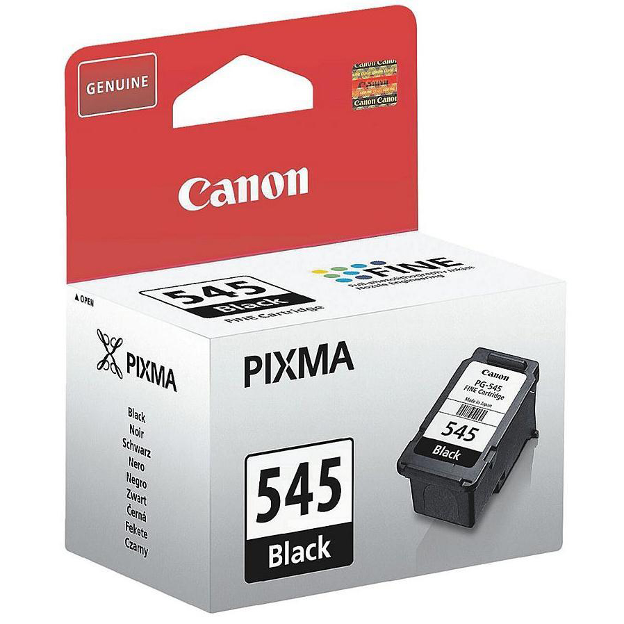 Canon PGI-545 Inkjet Cartridge Page Life 180pp 8ml Black Ref 8287B001