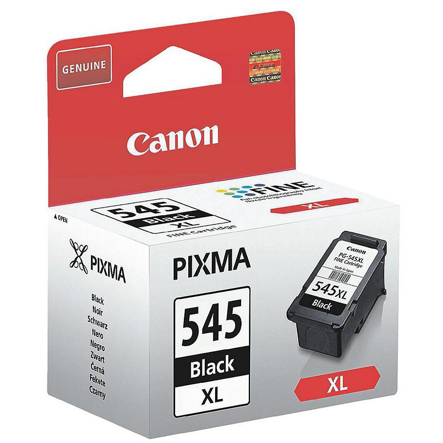 Printheads Canon PGI-545XL Inkjet Cartridge High Yield Page Life 400pp 15ml Black Ref 8286B001