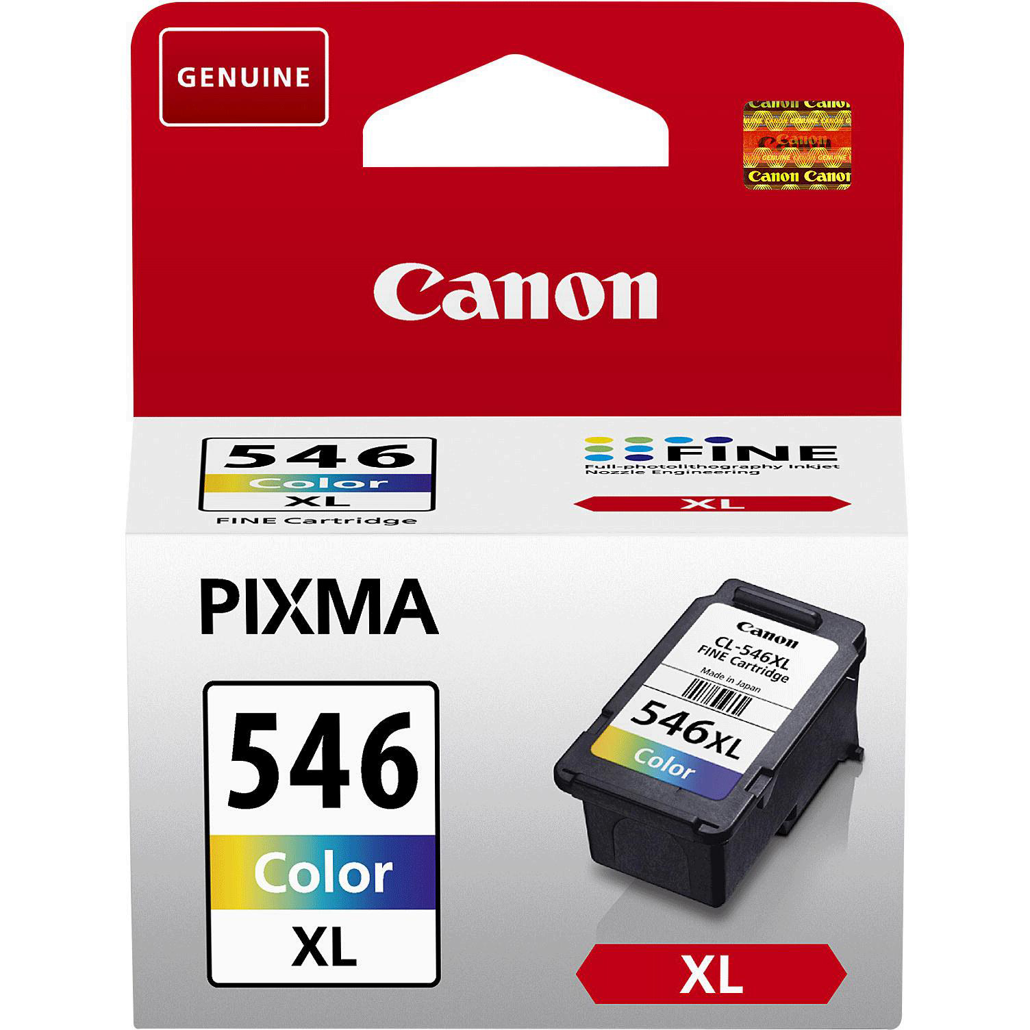 Canon CLI-546 XL Inkjet Cartridge High Yield Page Life 400pp 13ml Tri-Colour Ref 8288B001