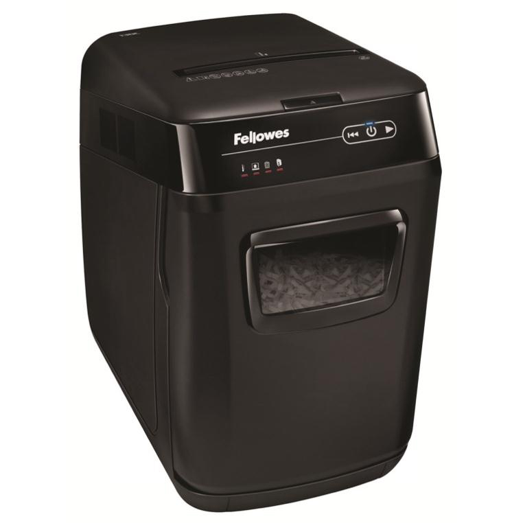 Fellowes AutoMax 130C Professional Shredder 4x51mm Cross Cut P-3 Ref 4680201 [FREE Scanner] Jul-Sep 2018