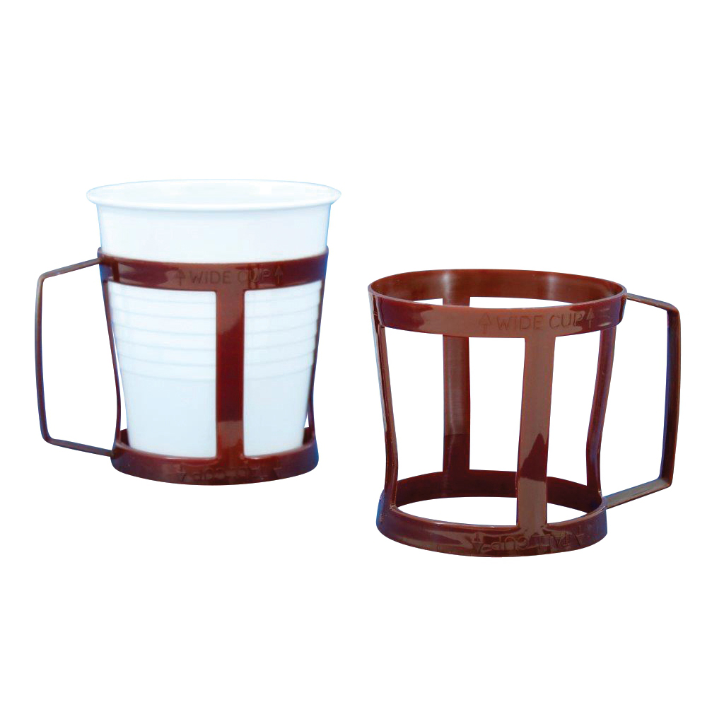 Vending Cup Holder Fits 7oz Cup Polypropylene Brown Ref RY00308 Pack 12
