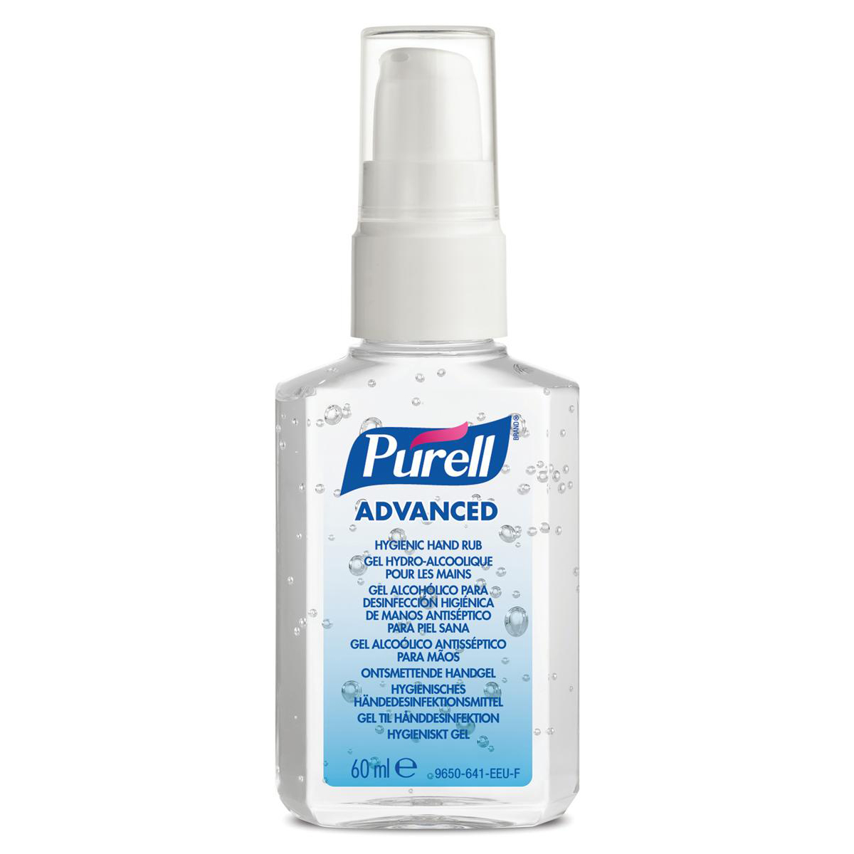 Floor Cleaning Purell Advanced Hygiene Hand Rub Personal Spray Pump 60ml Ref N06196