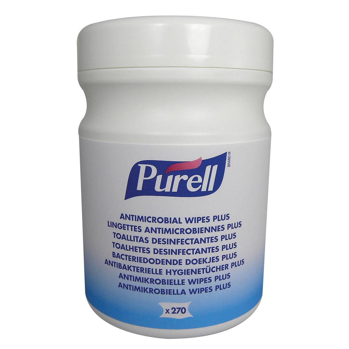 Purell Antimicrobial Wipes Canister Ref P06589 270 Wipes