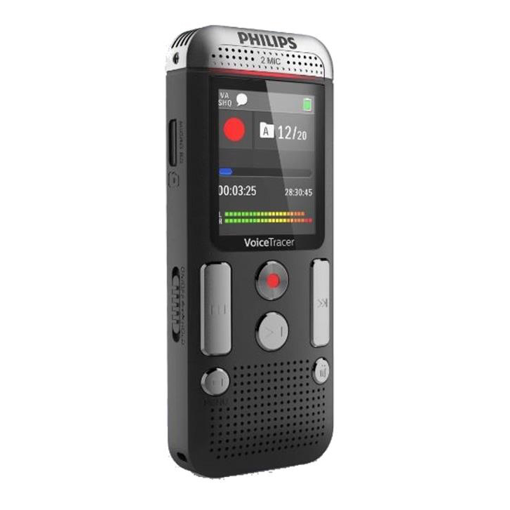 Image for Philips DVT 2510 Digital Recorder Hands-free 8GB Colour Display Ref DVT2510