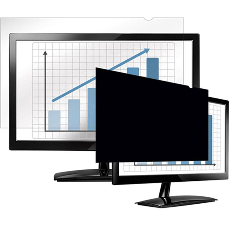 Desktop Fellowes Blackout Privacy Filter 24in Widescreen 16:10 Ref 4801601