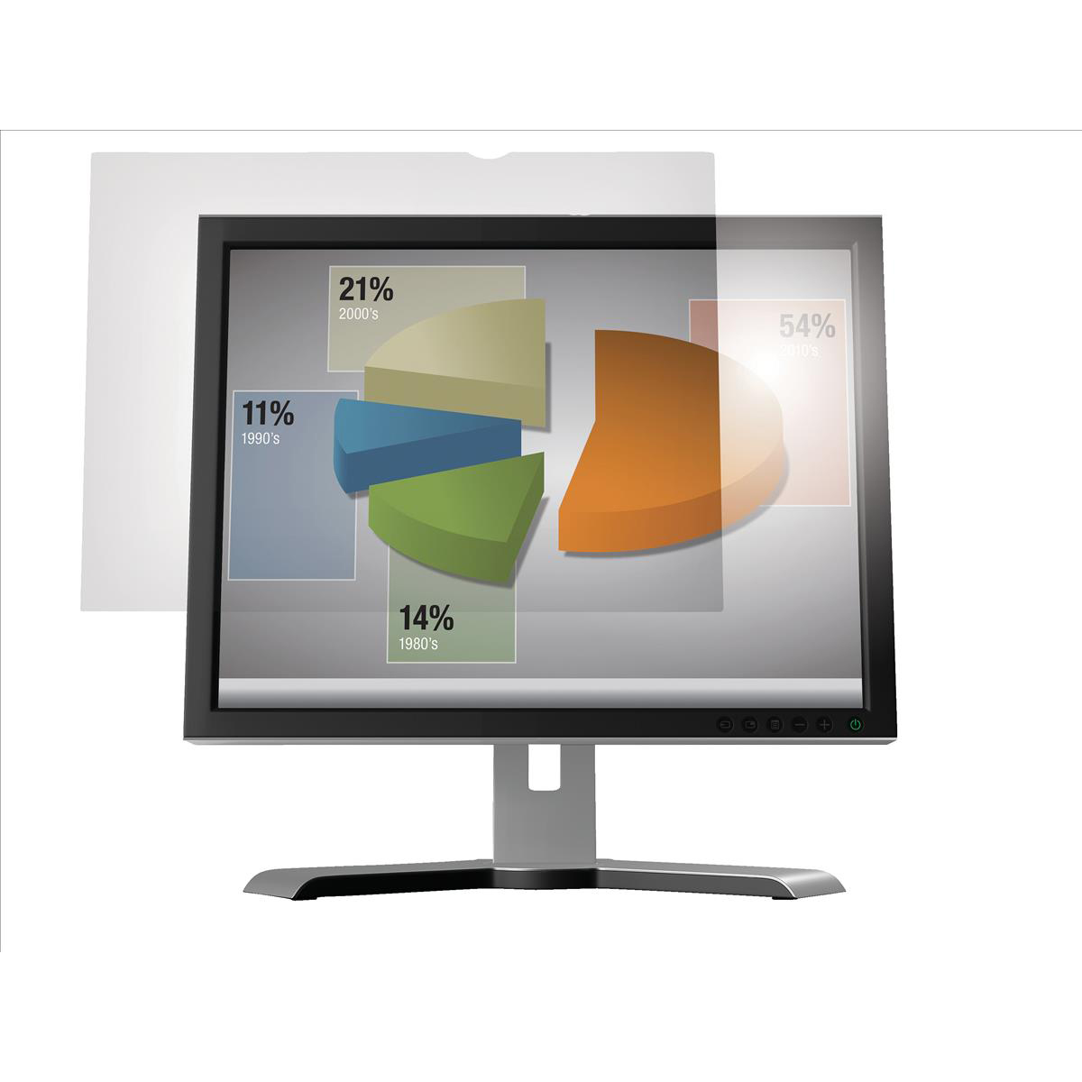Image for 3M Anti-glare Filter 23in Widescreen 16:9 for LCD Monitor Ref AG23.0W9