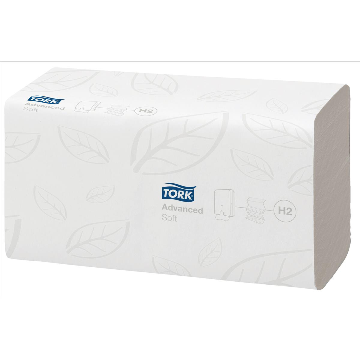 Tork Xpress Advanced Soft Hand Towel Multifold 2 Ply White 180 Sheets Per Stack [Pack 21] Ref 120289