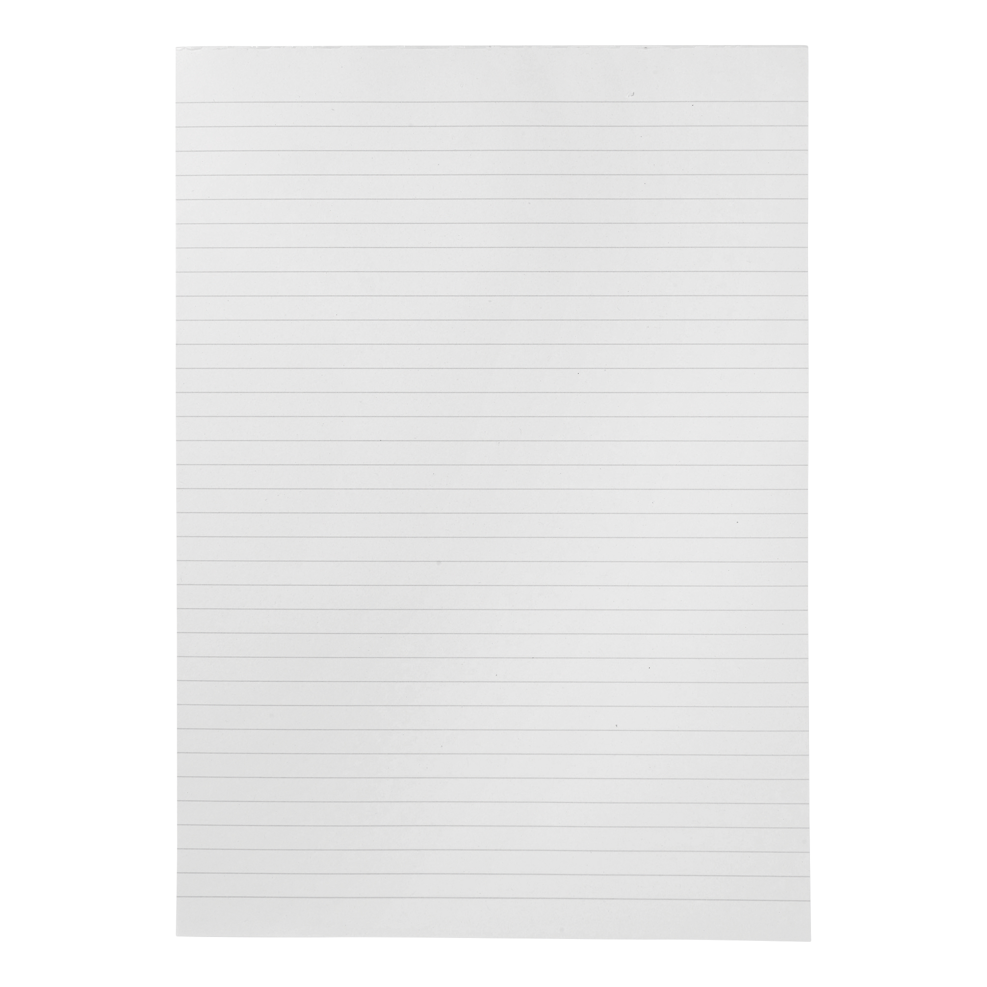 5 Star Eco Recycled Memo Pad Headbound 70gsm Ruled 160pp A4 White Paper Pack 10