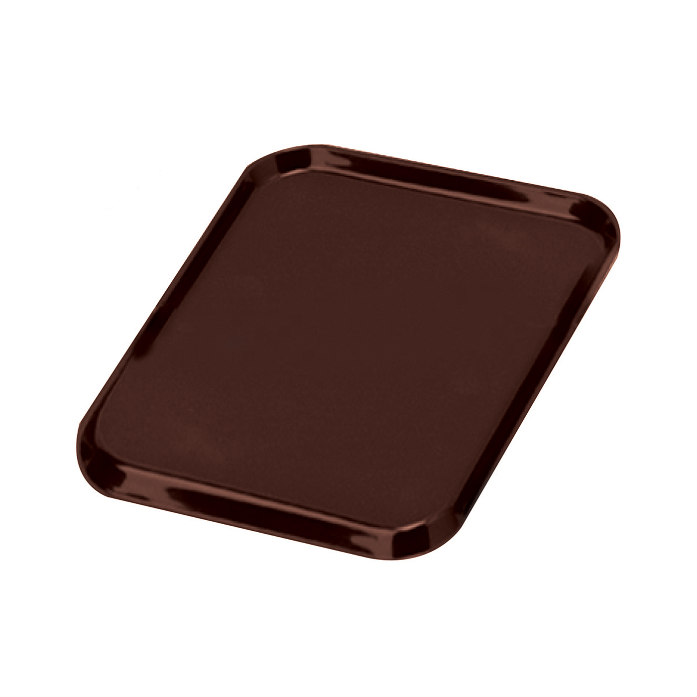 Trays Tray Non Slip Polypropylene Dishwasher Safe W390xD290mm Brown