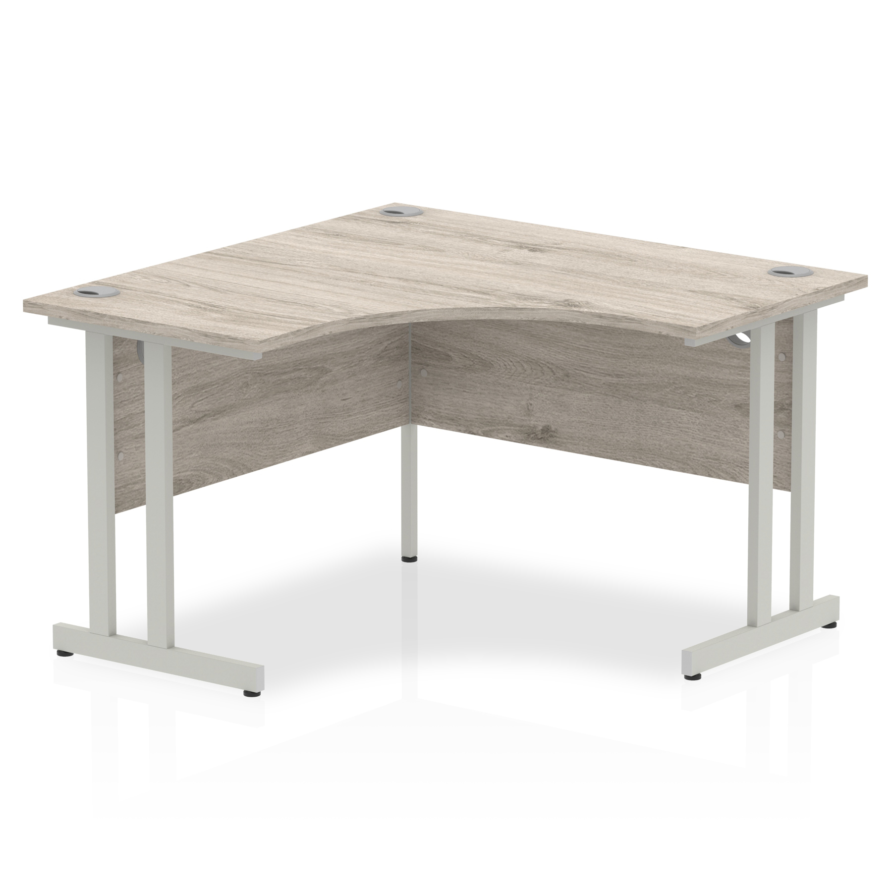 Trexus Cantilever Call Centre Desk 1200mm Grey Oak Ref I003530