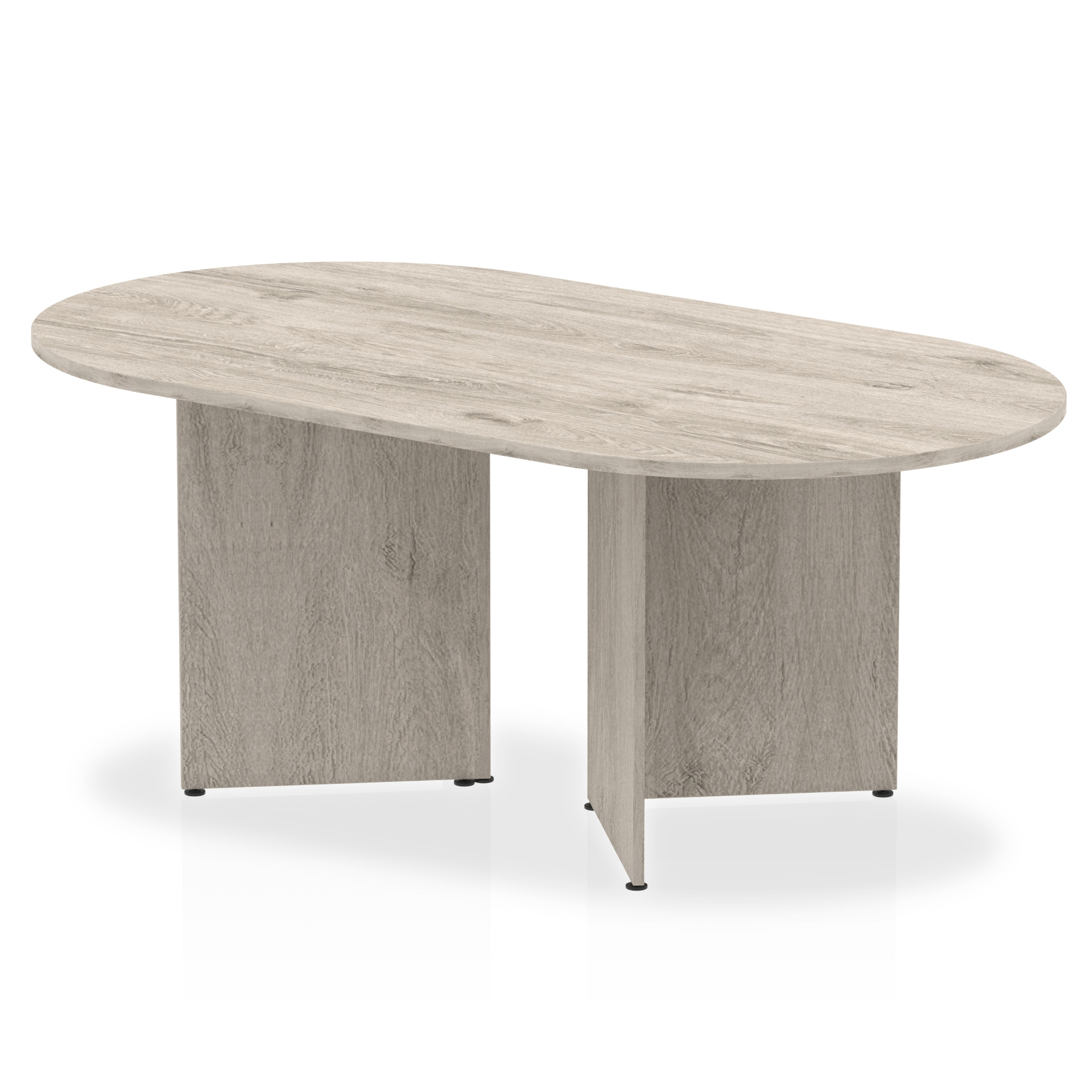 Tables Trexus Boardroom Table Arrowhead 1800x1200x730mm Grey Oak