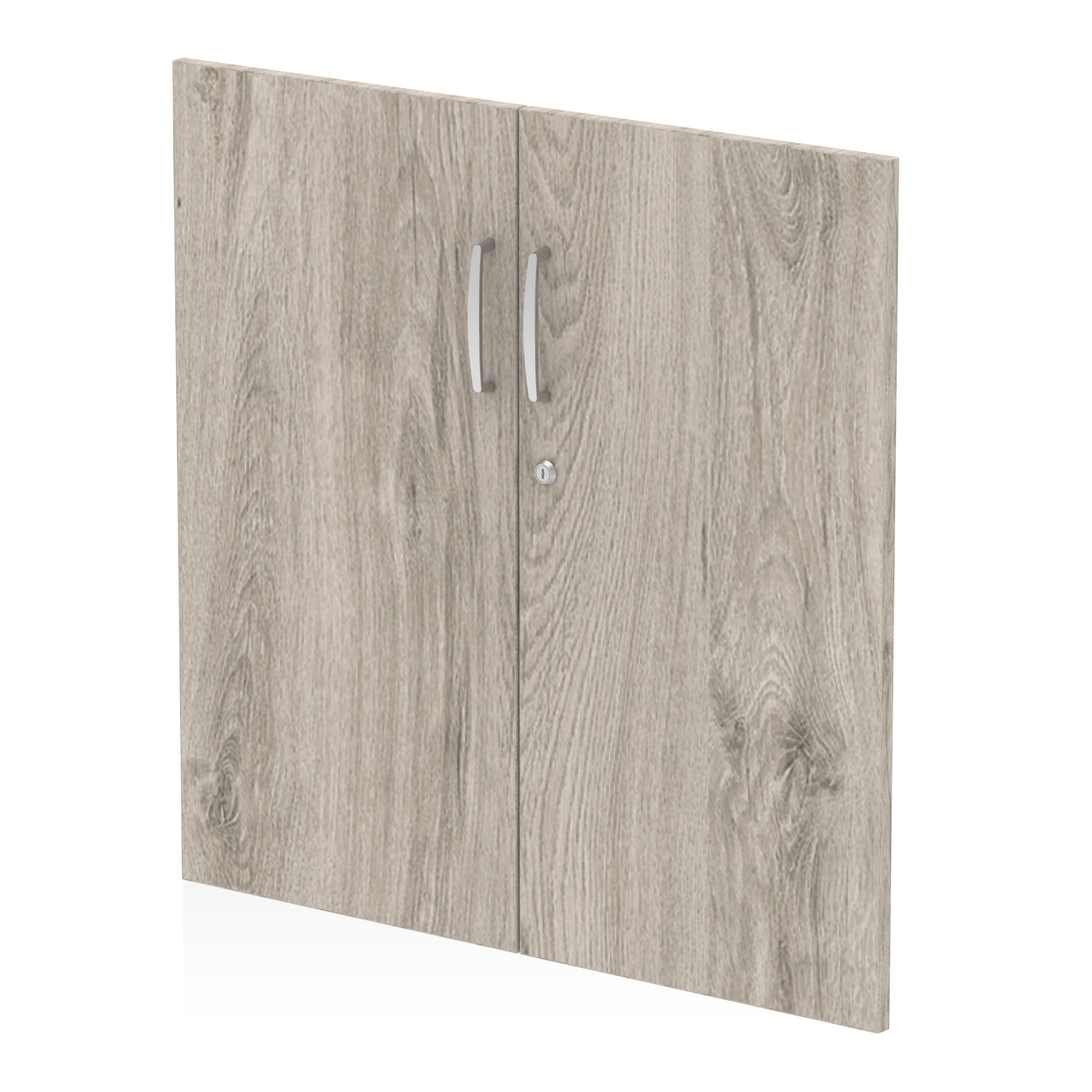 Filing cabinets or accesories Trexus Door Pack For 800mm High Cupboard Grey Oak Ref I003231