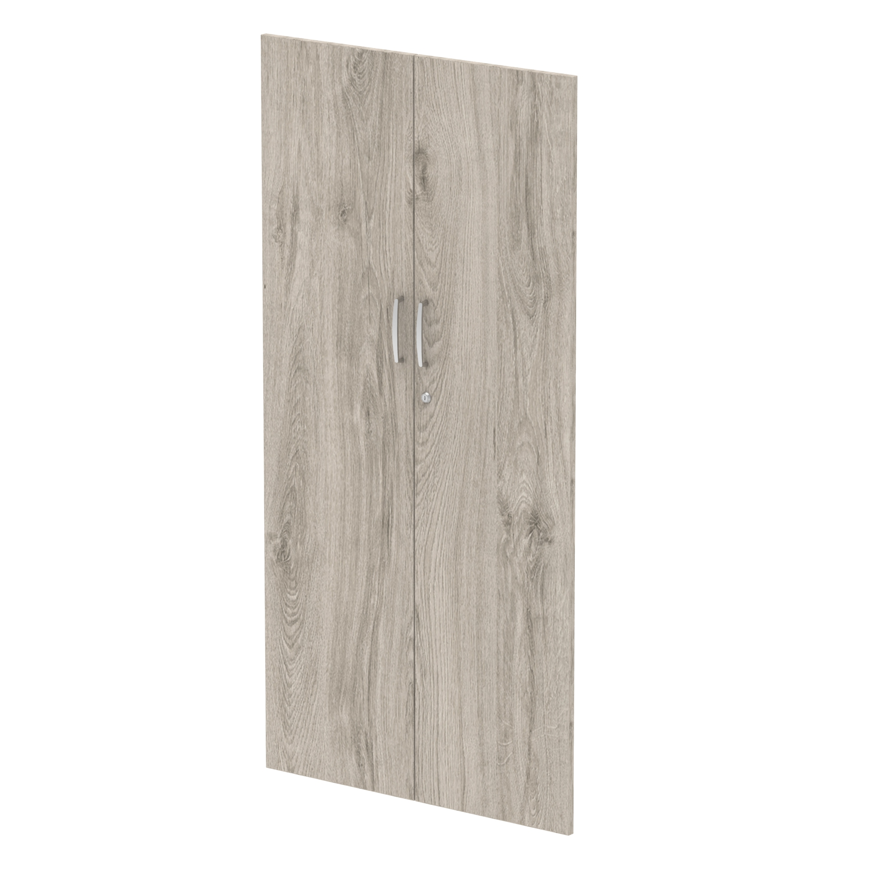 Filing cabinets or accesories Trexus Door Pack For 1600mm High Cupboard Grey Oak Ref I003233