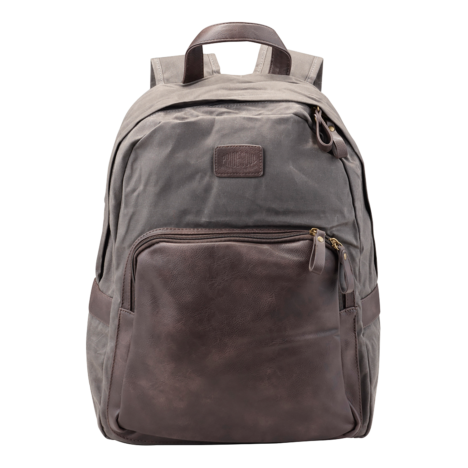 Briefcases & Luggage Pride and Soul Sensation 15inch Laptop Backpack Grey/Brown Ref 47301
