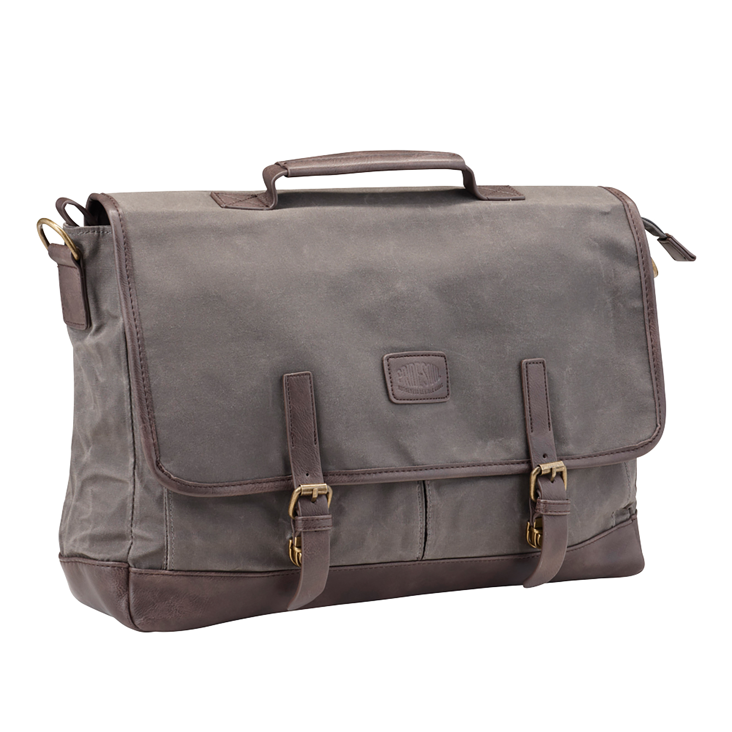 Bags & Cases Pride and Soul Vegas 15inch Laptop Briefcase Grey/Brown Ref 47303