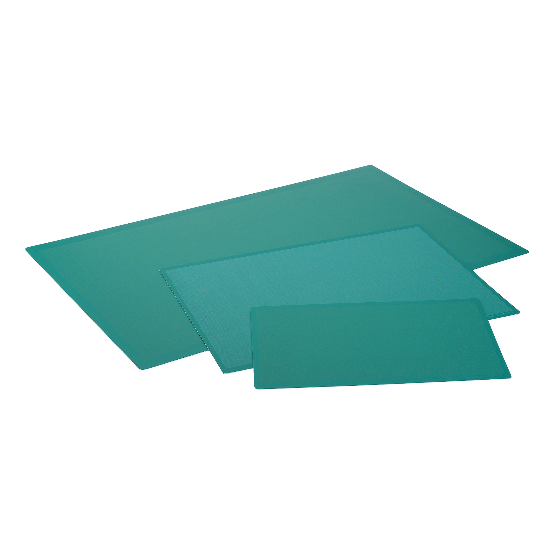 Pattern cutting mats or boards Cutting Mat Anti Slip Self Healing 3 Layers 1mm Grid on Front A2 Green Ref LXKHCM4560