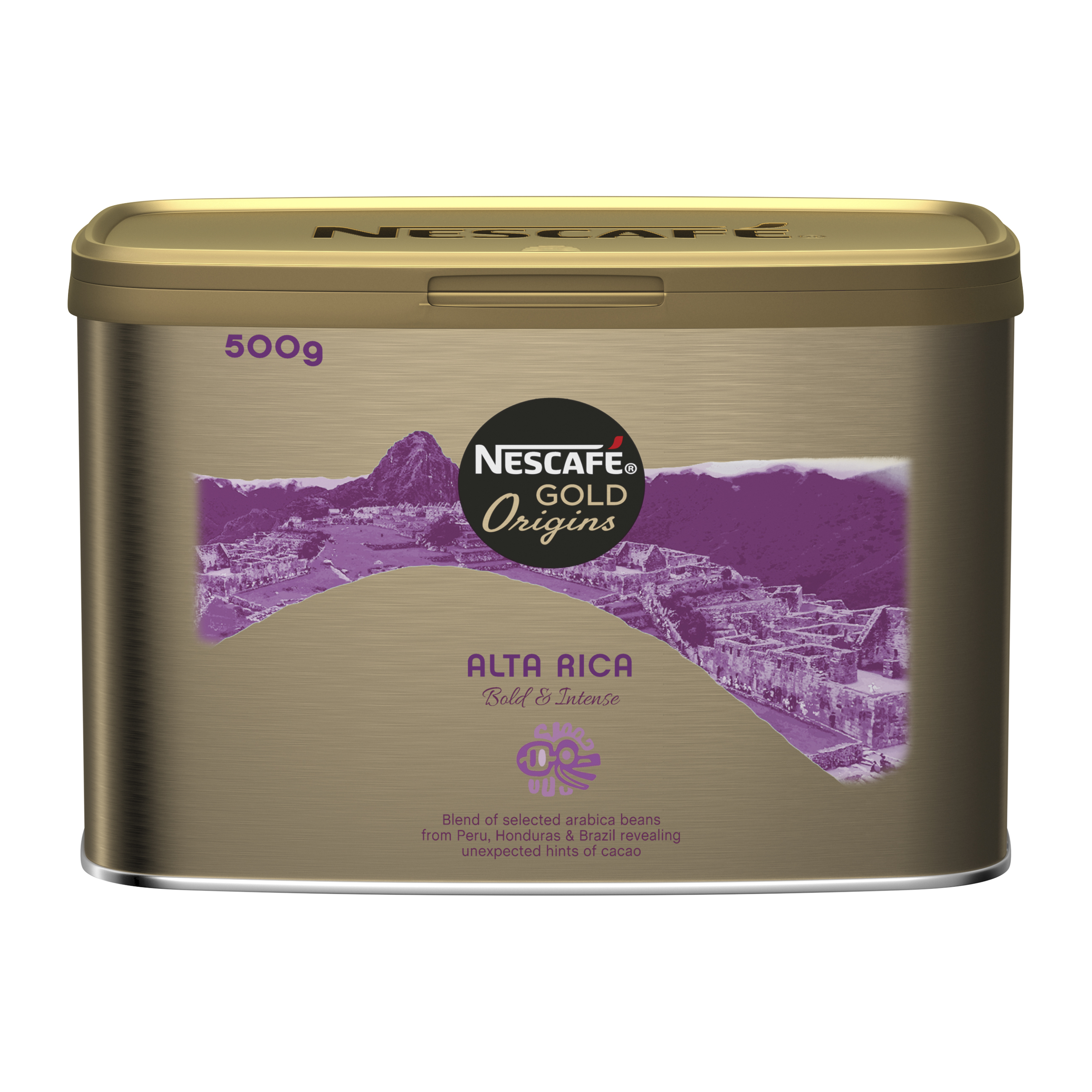 Coffee Nescafe Alta Rica Instant Coffee Tin 500g Ref 12284227