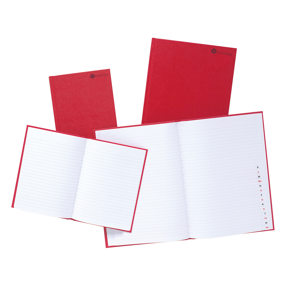 Business Manuscript Book Casebound Ruled 192 Pages A4 [Pack 5]