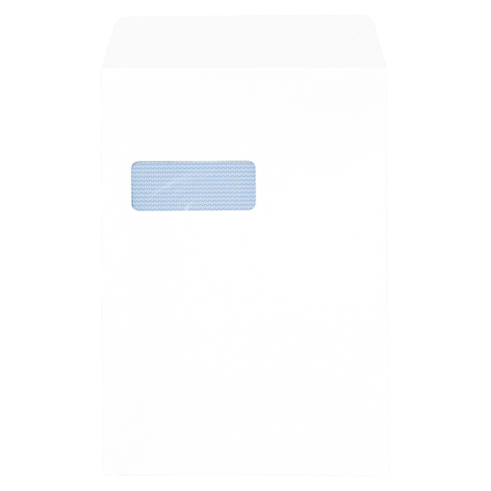 Business Envelopes Pocket Peel and Seal Window 100gsm White C4 [Pack 250]