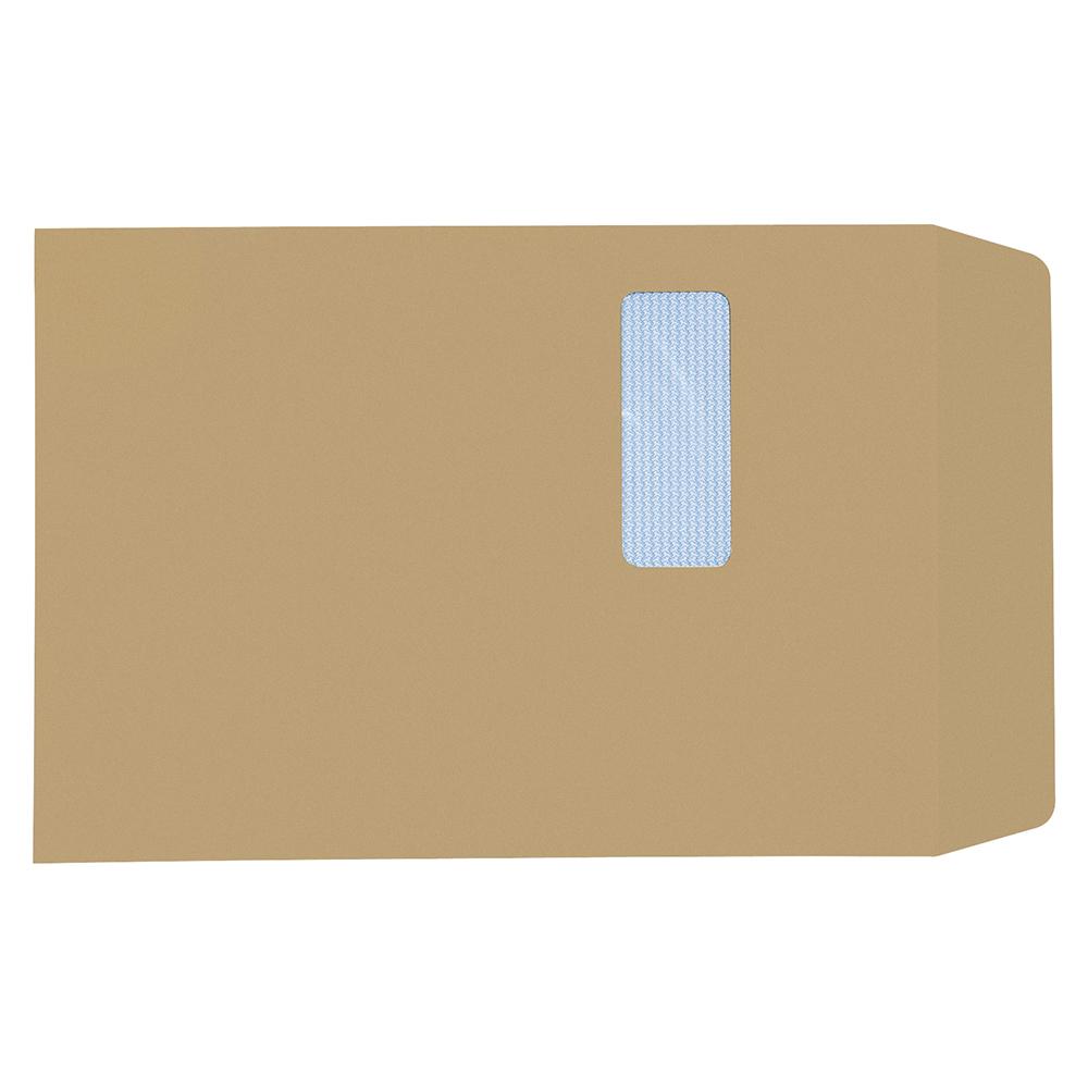 Business Envelopes Mediumweight Pocket Self Seal 90gsm Manilla C4 [Pack 250]