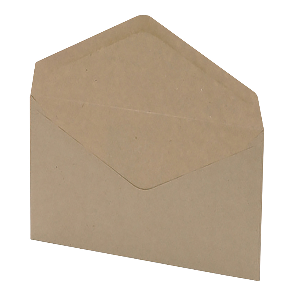 Business Envelopes Recycled Lightweight Wallet Gummed 80gsm Manilla C6 [Pack 2000]